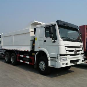 Sinotruk Howo 6x4 Dump Truck 336-371hp , Loading Mud , Sand , Stone Manufactures