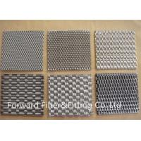 China Metal Fabric Woven Metal Mesh Architectural Mesh Weave With Stainless Steel Wire on sale