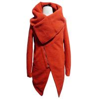 Red womens wool winter coats long female jackets in XS S M L XL XXL size Manufactures