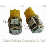 Easy installation white T10 5Pcs 1.2W 12 / 24V LED automotive lights Ce & RoHs approval Manufactures