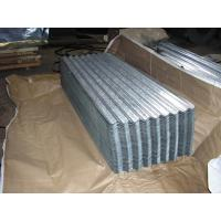 SGCH , SGCC, G550, JIS G3302 steel spangle Galvanized Corrugated Roofing Sheet / Sheets Manufactures