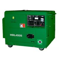 4.2KW / 4.5KW Silent Diesel Generator Set With Single Cylinder Manufactures