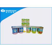 China Self Adhesive Custom Waterproof Paper Labels Stickers For PS Plastic Cups on sale
