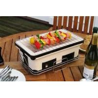 China ST25 BBQ home use Barbecue Set Japanese charcoal ceramic BBQ grill on sale
