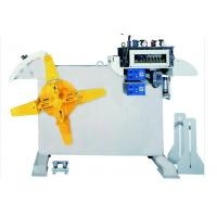 0.1 - 1.5mm Thin Metal Coil Automatic Leveling Machine With 19 Pics Straightening Roller Manufactures