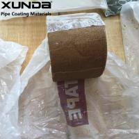 Flexible fiber woven grease Waterproof Marine Tape , corrosion protection tape for pipes Manufactures