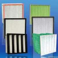 99.999% High Efficiency And Capacity Aluminum pleated Hepa for HVAC industry filter Manufactures