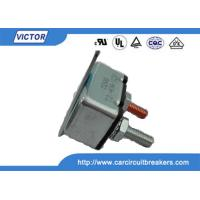12V / 24V 30A 40A 50A Manual Reset Circuit Breaker , Single Phase Motor Protection Manufactures