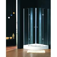 Lodge Showers Bathrooms Shower Stalls , Quadrant Shower Units With Foldable Hinges Manufactures