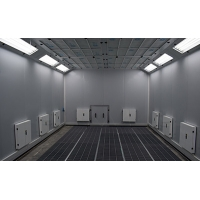 OEM 6*6*6m Spuitcabine Automotive Paint Room For Car Painting Can Be Heated Manufactures
