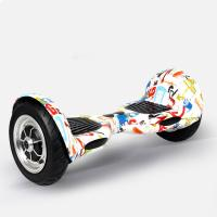 Portable Auto Balance  Electric Standing Scooter Skateboard With Led Light Manufactures