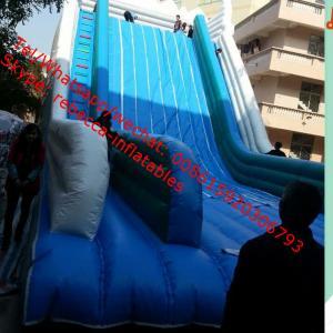 ig kahuna inflatable water slide/giant inflatble water slide inflatable toboggan slide Manufactures