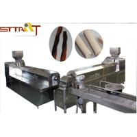 High Efficiency Single Screw Food Extruder , Smart Pet Treat Machine Manufactures