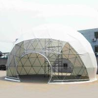 Customized Large Outdoor Geodesic Dome Tent For Commercial Meeting Manufactures