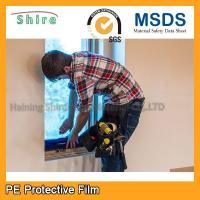 Durable PE Glass Protective Film For Window Construction Environmentally Manufactures