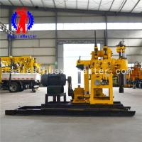 geological general investigation and exploration drill machine/water well equipment HZ-200YY hydraulic system Manufactures