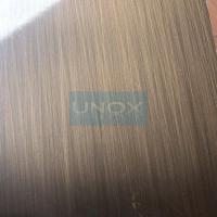 304 Bronze Hairline Stainless Steel Plate-CopperHairline Bronze Stainless Steel Sheets Manufactures