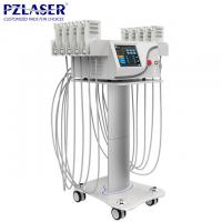 Medical Customized Lipo Laser Slimming Machine / Body Slimming Equipment Manufactures