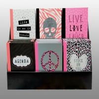 Case Bound Lovely Girl Custom Notebook Printing With Matt Lamination Cover Manufactures