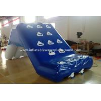 Promotional Fun Inflatable Water Slide Inflatable Water Games With Durable Handles Manufactures