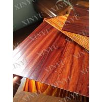 Wood grain transfer Aluminium Window Profiles for decoration material Manufactures