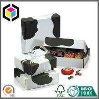 Quality Medium Size Full Color Offset Printed Cow Corrugated Cardboard Packaging Box for sale