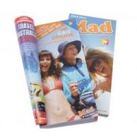 Quality Customizable matte oil vanishing cheap Printing Trade Magazines with glue binding for sale