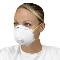 Non Woven Activated Carbon Respirator N95 , Carbon Filter Dust Mask With Valve Manufactures