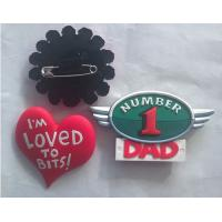 Accept Customized beautiful design and logo handmade badges for clothes Manufactures