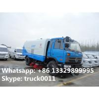 China biggest road sweeper truck for sale,facotory direct sale price Cummins 190hp street sweeper truck for sale, Manufactures