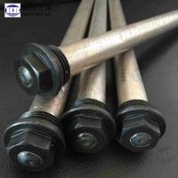 Extruded water heater anode rod magnesium with Hex head Manufactures