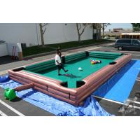 Huge Gaint Customized Inflatable Swimming Pool With Repair Kit , Inflatable Lounge Pool Manufactures