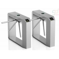 2.0Mm Thickness 3 Arm Turnstile Gate / Full Automatic Access Control Systems Manufactures