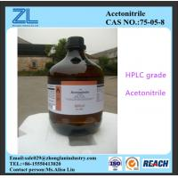 HPLC grade Acetonitrile export to India market,CAS NO.:75-05-8 Manufactures
