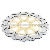 Kawasaki ZXR 250 Motorcycle Brake Disc Rotors And Brakes CNC Anodized Black Gold Manufactures