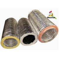 Supply Ventilation 4'' - 20''  air conditioning flexible  insulated duct Manufactures