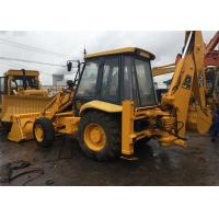 Quality Original Paint Used Tractor Front End Loaders JCB 3CX Twin Gear Pump 82.6 Hp for sale