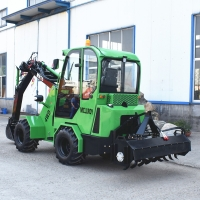 China Agriculture Tractor 0.8CBM 42kw 1500kg Mini Wheel Loader on sale