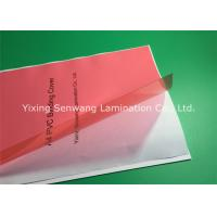 Quality Red Plastic A4 Binding Covers Book Binding Hardcover 6 Mil No Scratch for sale