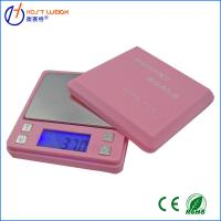Buy cheap Pink 0.01 x 500g100g/0.01g Digital Ashtray Pocket Scale Jewelry Gold Diamond from wholesalers
