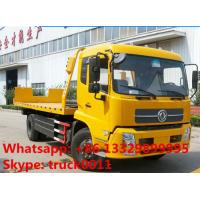Quality dongfeng Car Carrier for Recovery Vehicle 10 Tons Road Wreckers Truck,best price for sale