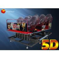 Comfortable 5D Movie Theater Full Set Dynamic Cinema Equipments Manufactures