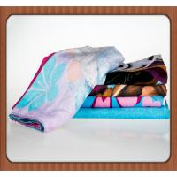 hot sale OEM New fashion 100% cotton custom printed beach towel with your logo Manufactures