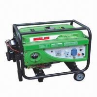 3kW Portable Gasoline Generator, Sized 605 x 460 x 465mm Manufactures