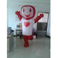 Custom Inflatable Costumes Walking Blow Up  Costumes Red with 210D Oxford Cloth Manufactures