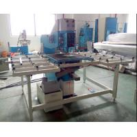 Semi Automatic Glass Drilling Machine With Lower Drilling Bit PLC Control System Manufactures