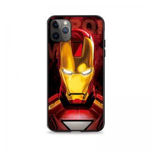 Iron Man 3D Lenticular Flip Iphone , Huawei Phone Case Offset Printing Manufactures
