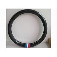 Customized Leather Car Steering Cover / Auto Steering Wheel Cover Manufactures