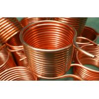H70 Cutting Air Conditioner Copper Pipe C1220 Light Weight With Drilling Manufactures