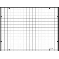 3nh TE183 A REFLECTANCE 14 horizontal and 19 vertical lines 19 / 14 – TV cameras GRID TEST CHART Manufactures